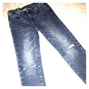 AE ripped skinny jeans